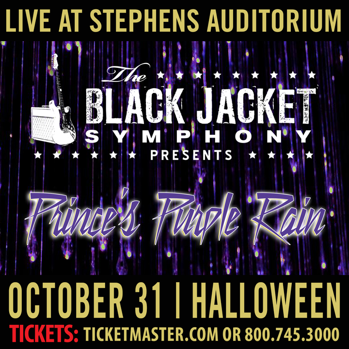 "The Black Jacket Symphony @ Stephens Auditorium - Performing Prince's ""Purple Rain"" - Ames, IA"