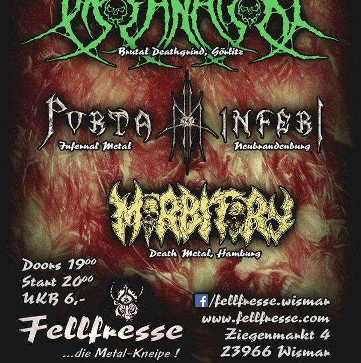 Morbitory Tour Dates