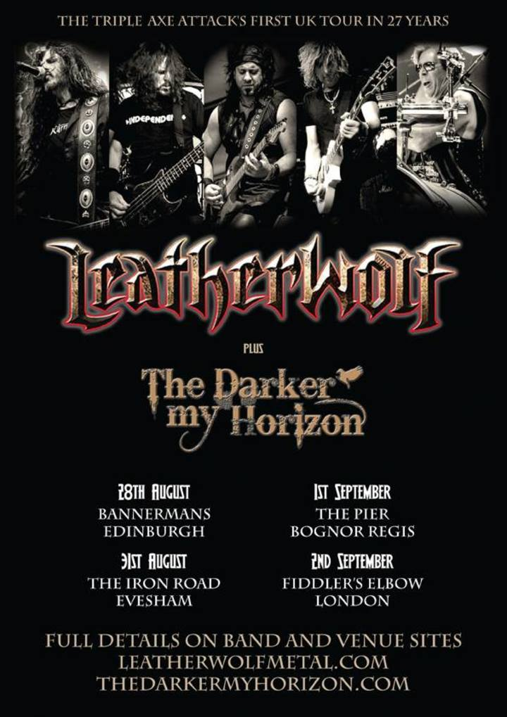 The Darker my Horizon @ The Pier - Bognor Regis, United Kingdom