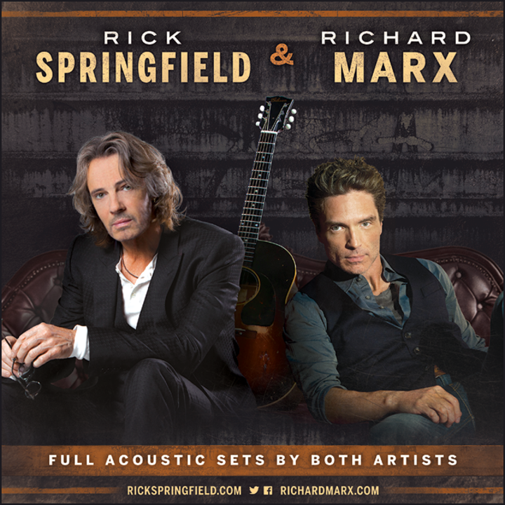 Rick Springfield @ HEB Performance Hall At Tobin Center for the Performing Arts - San Antonio, TX