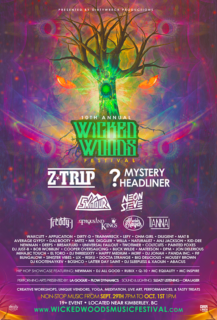 Z-Trip @ Wicked Woods Music Festival - Fairmont, Canada