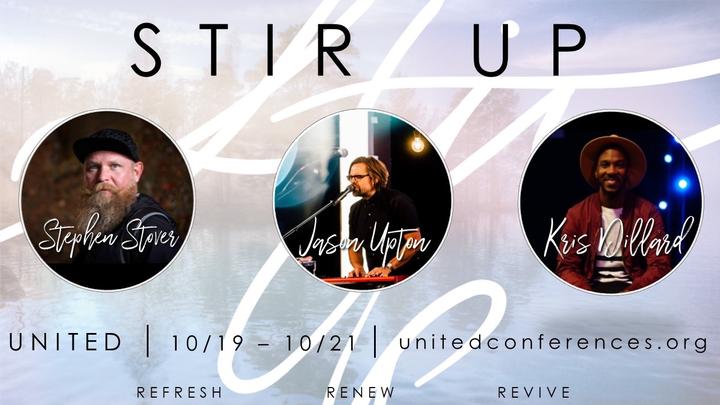 Kris Dillard @ Stir Up Conference w/Jason Upton, Kris Dillard, Stephen Stover - Seneca, SC
