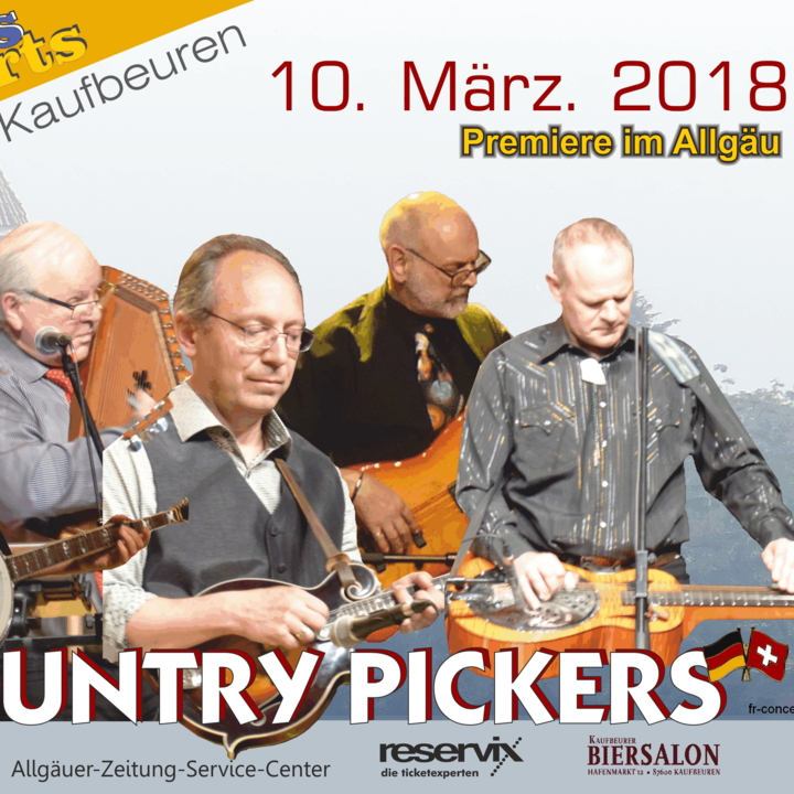 The Country Pickers @ Kolpinghaus - Kaufbeuren, Germany