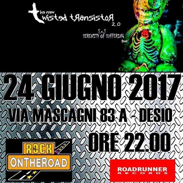 The New Twisted Transistor 2.0 @ RockOnTheRoad - Desio, Italy