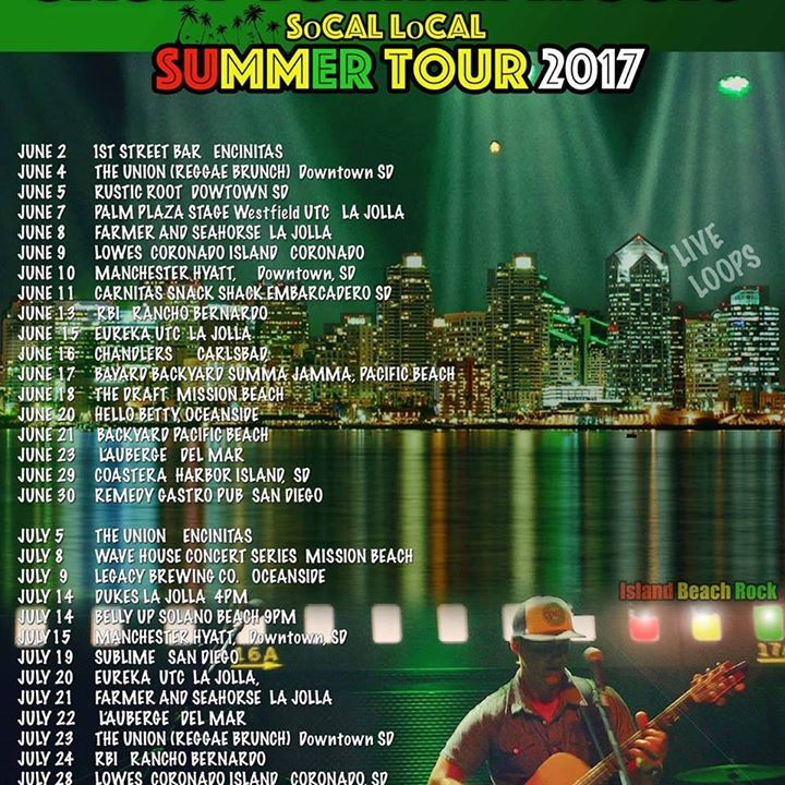 Casey Turner Music Tour Dates