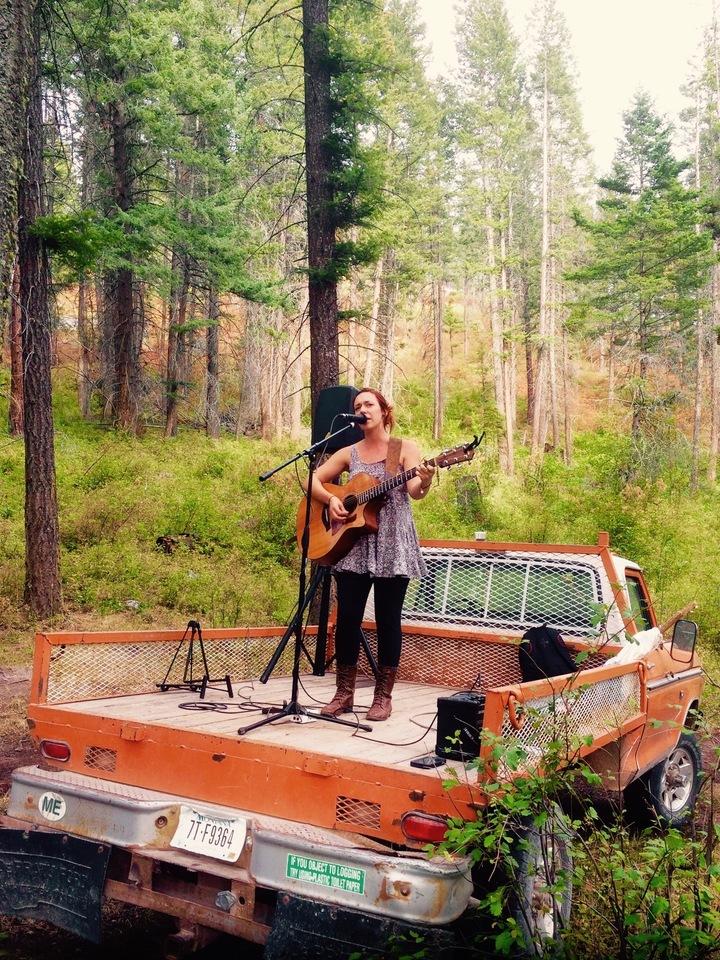 Tessa Karrys @ Crown Of The Continent Guitar Workshop & Festival - Bigfork, MT