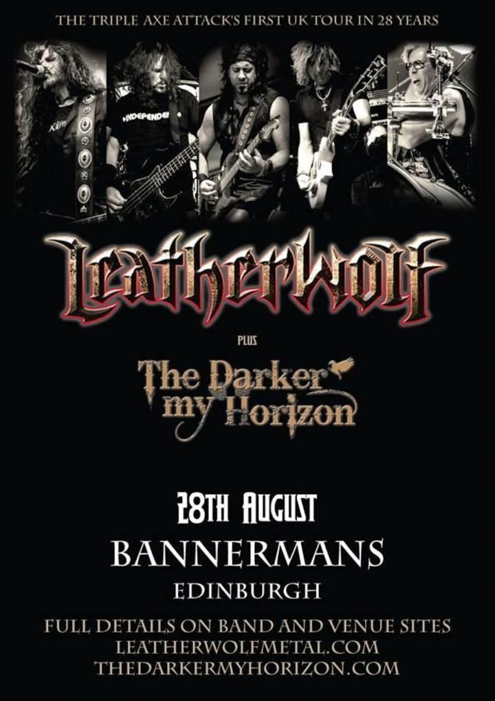 Leatherwolf @ Bannerman's - Edinburgh, United Kingdom