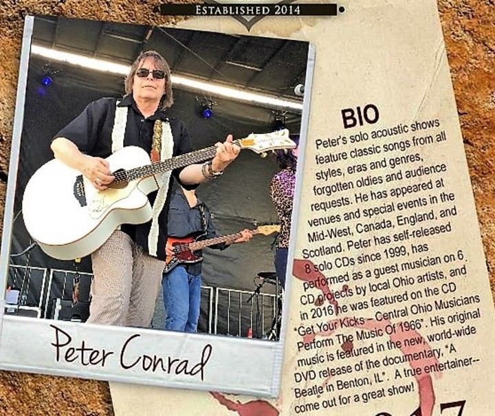 Peter Conrad Music @ Suzannah's Gallet & Tap Room - Lancaster, OH