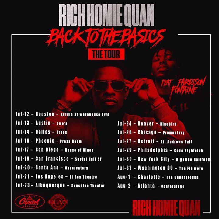 Rich Homie Quan @ The Hub Entertainment Center - Fort Wayne, IN