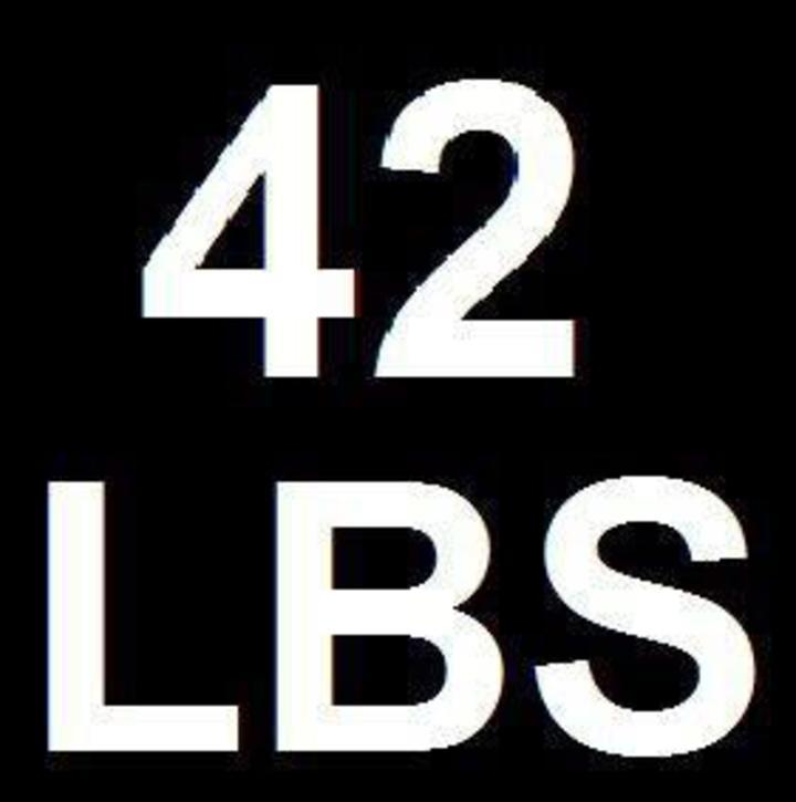 42 lbs Tour Dates