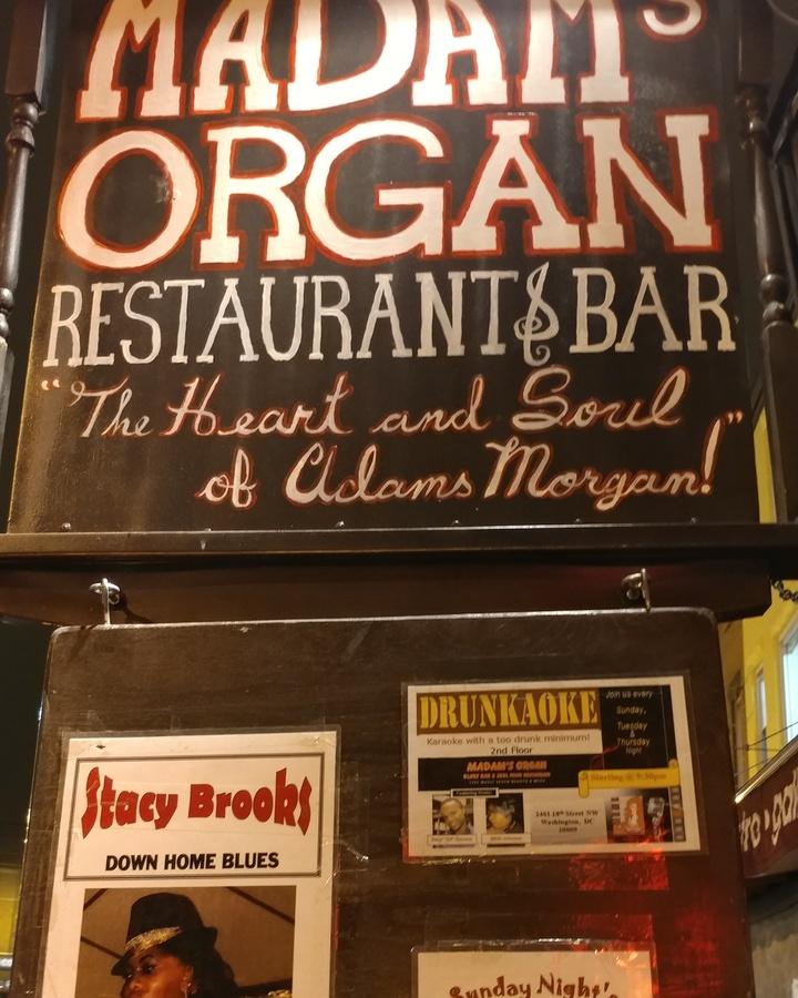 Stacy Brooks Music @ Madam's Organ - Washington, DC