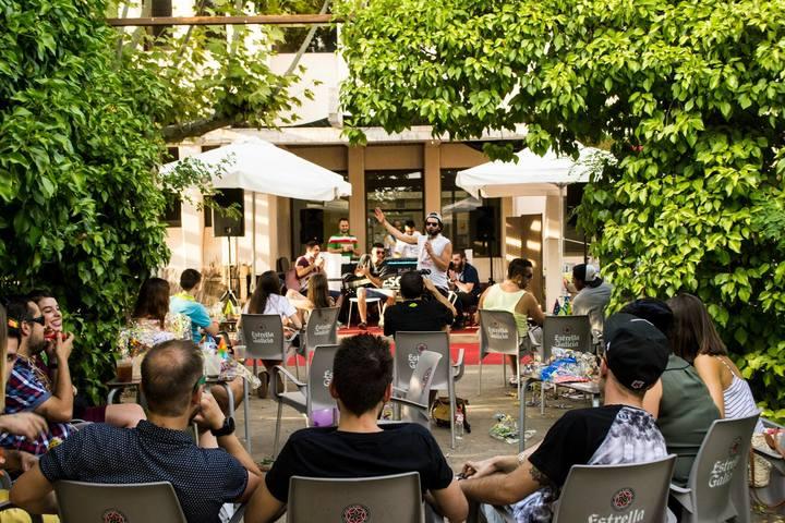 Sunset Terrace Aranda de Duero @ Week 10 @Freemason's Tavern - Aranda De Duero, Spain