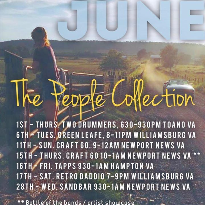 James Wright & The People Collection Tour Dates