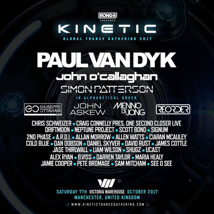 Driftmoon @ Kinetic : Global Trance Gathering - Manchester, United Kingdom
