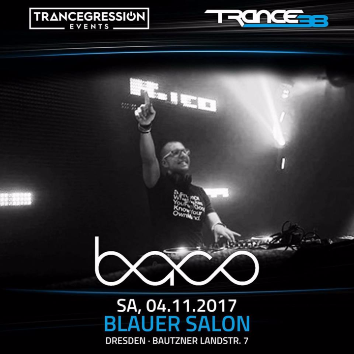 Dj BACO @ Blauer Salon - Dresden, Germany
