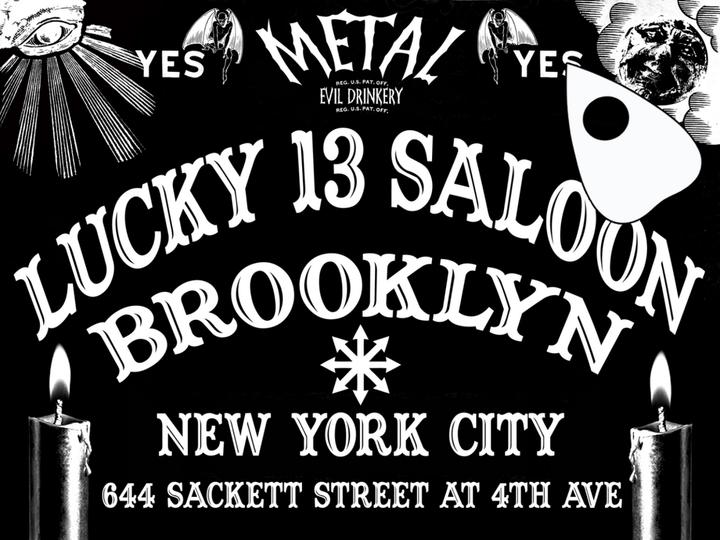 Libricide @ Lucky 13 Saloon - Brooklyn, NY