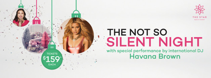 DJ Havana Brown Fans @ The Not So Silent Night @ The Star - Gold Coast, Australia