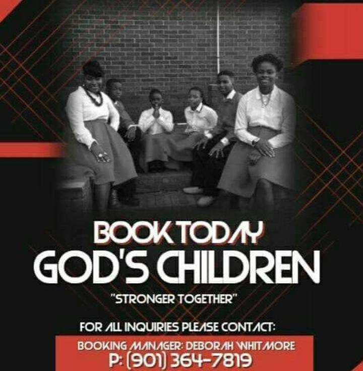 God's Children of Memphis, TN Tour Dates