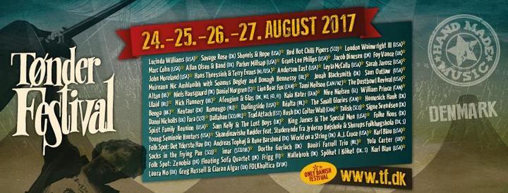 Mick Flannery @ Tonder Festival - Tønder, Denmark