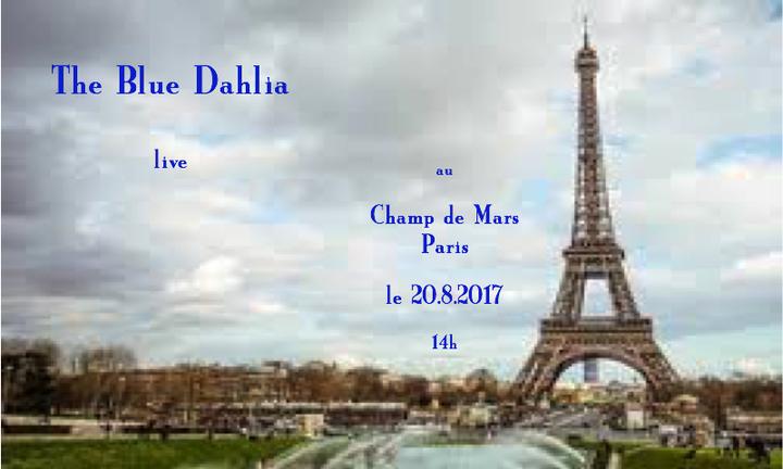 The Blue Dahlia @ le Kiosque au Champ de Mars - Paris, France