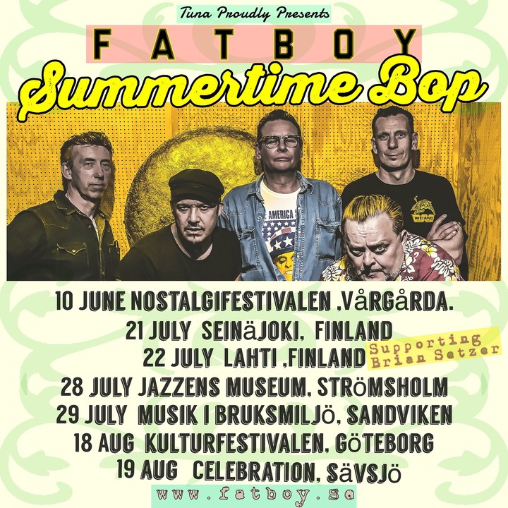Fatboy @ Celebration 2017 - Savsjo, Sweden