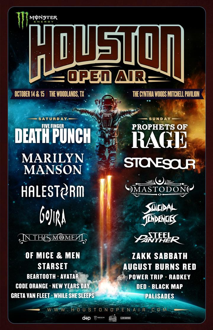 Powertrip @ Houston Open Air - Houston, TX