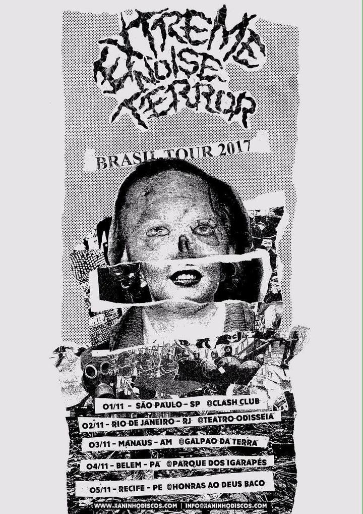 Extreme Noise Terror @ Clash Club - Sao Paulo, Brazil