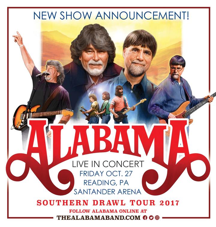 Alabama @ Santander Arena - Reading, PA