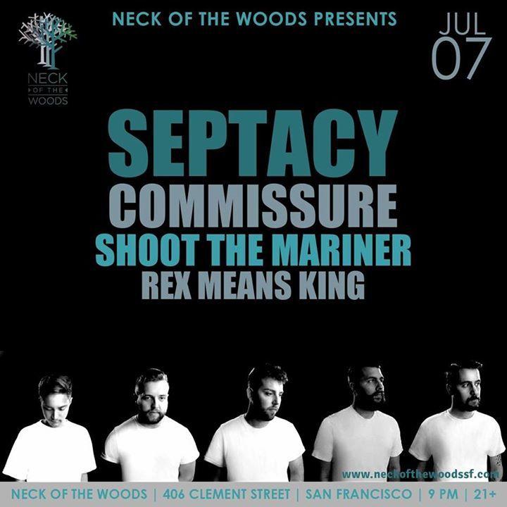 Septacy Tour Dates