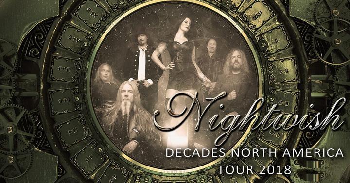 Nightwish @ Jannus Live - St. Petersburg, FL