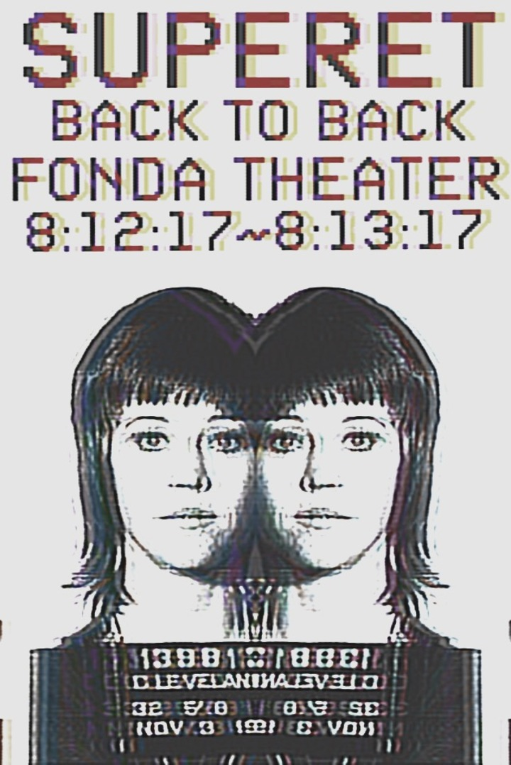 Superet @ Fonda Theatre - Los Angeles, CA
