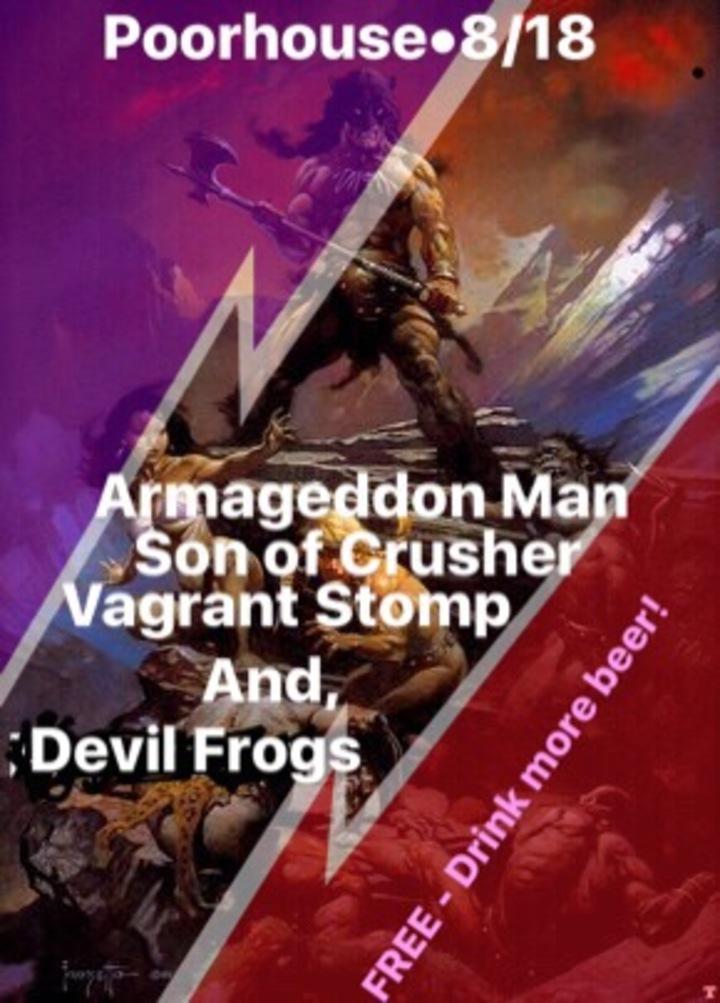 Armageddon Man @ Poorhouse - Fort Lauderdale, FL