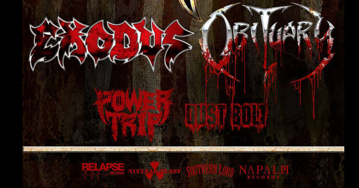 Exodus @ Motorco Music Hall - Durham, NC