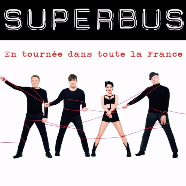 Superbus @ LA PALESTRE - Le Cannet, France