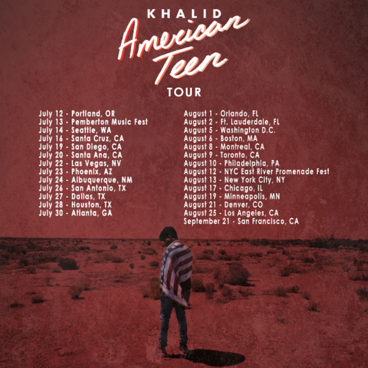 Khalid @ Memorial Auditorium - Sacramento, CA