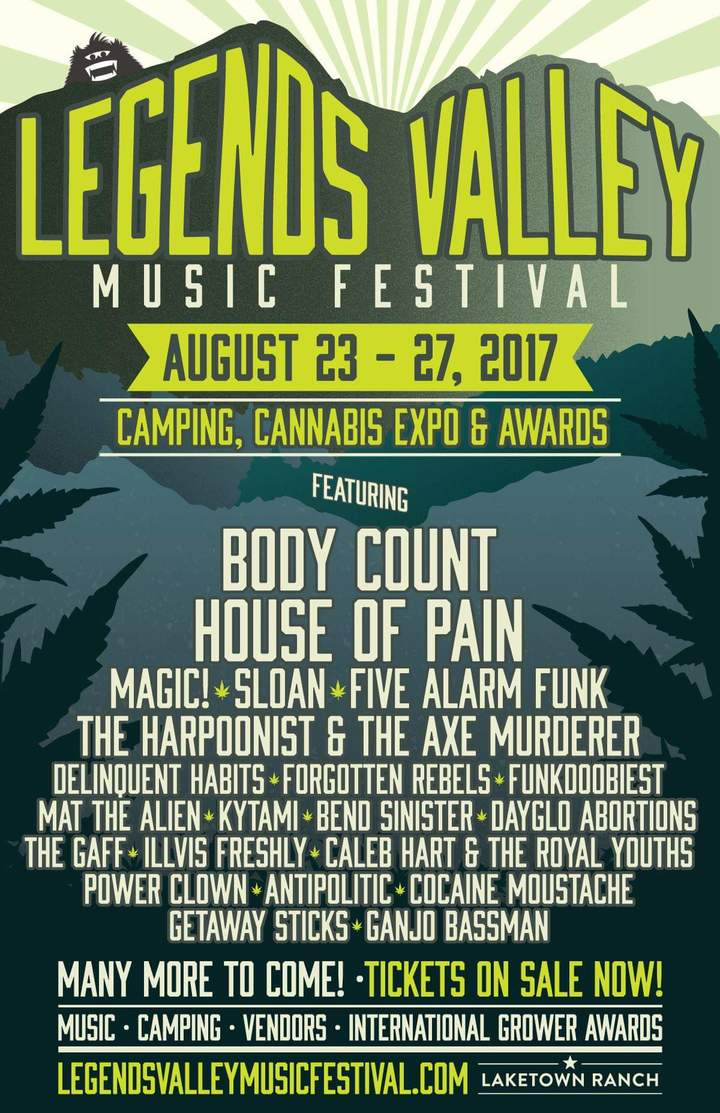 Caleb Hart @ Legends Valley Music Festival - Cowichan Valley, Canada