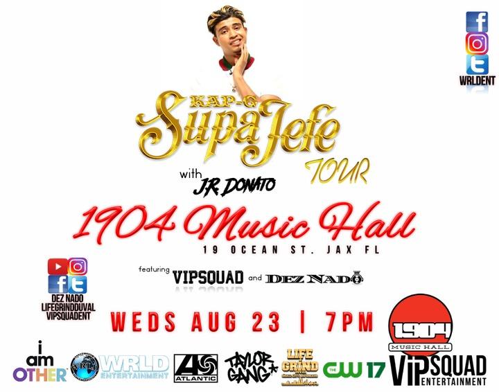 Dez Nado @ SupaJefe Tour with Kap G - Jacksonville, FL