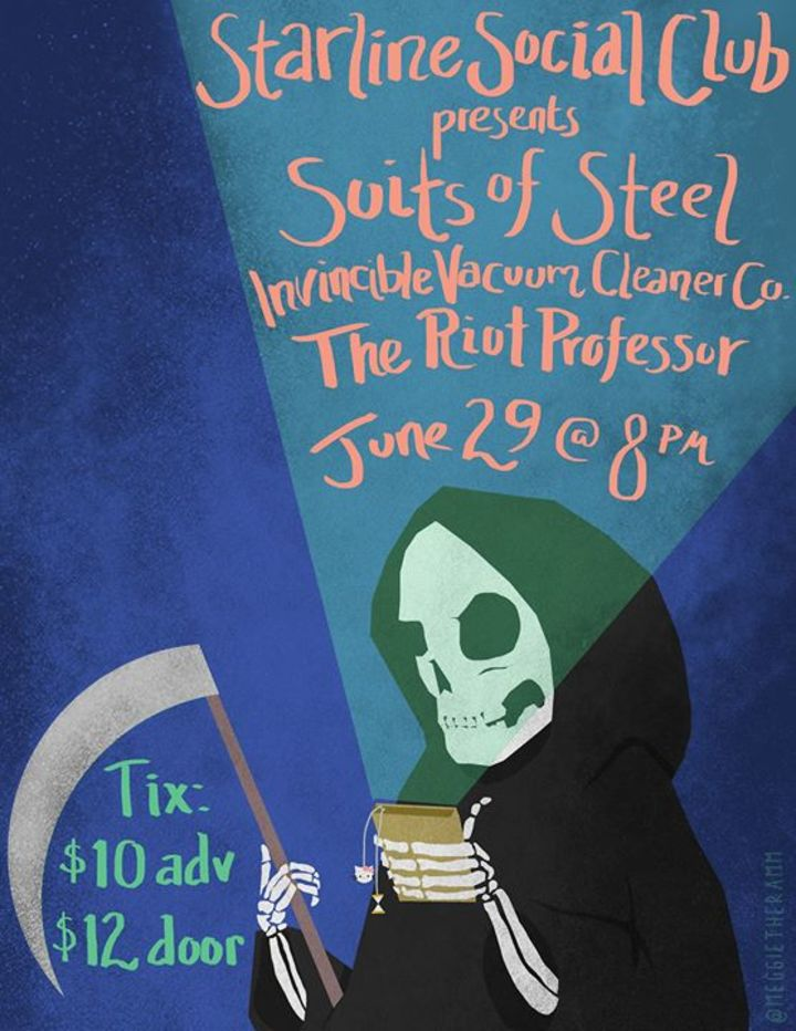 Suits of Steel Tour Dates