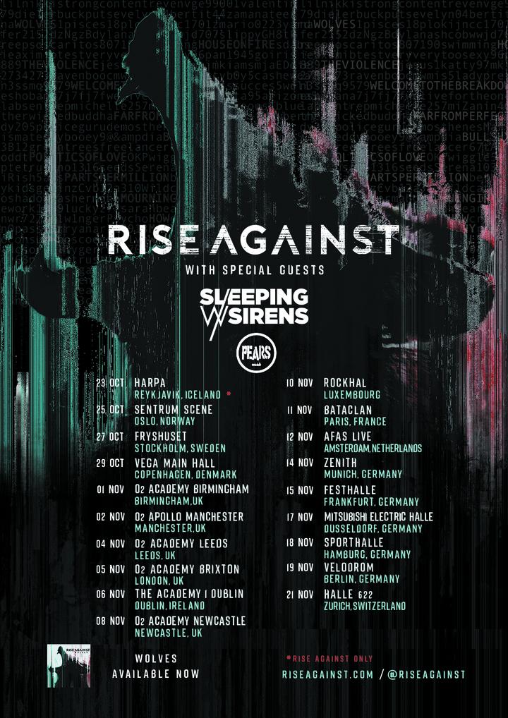 Rise Against @ Velodrom  - Berlin, Germany