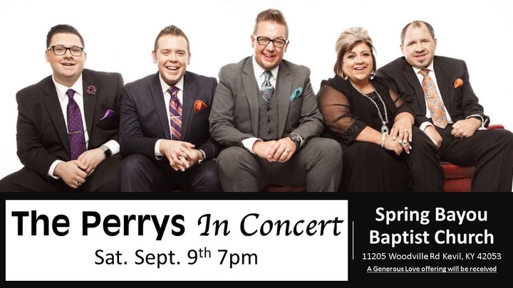 The Perrys @ Spring Bayou Baptist Church - Kevil, KY