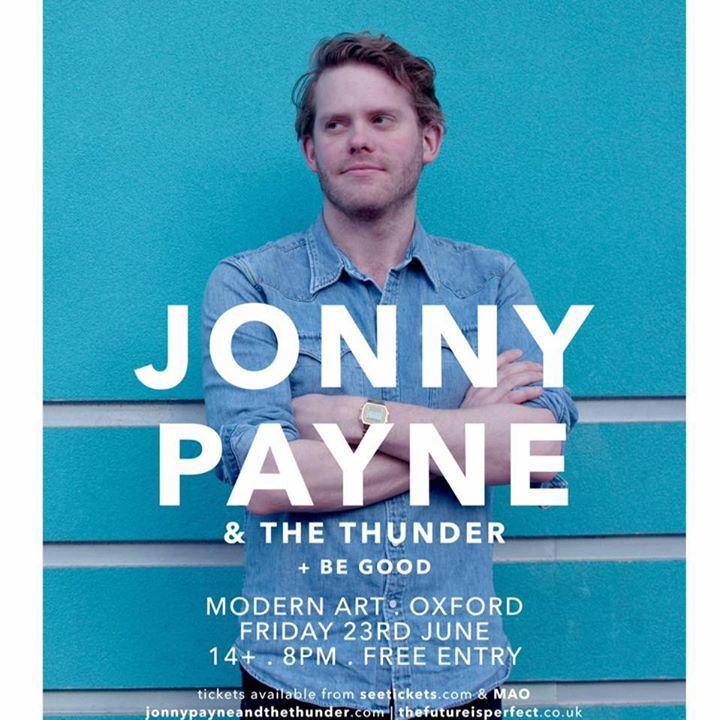 Jonny Payne & The Thunder Tour Dates