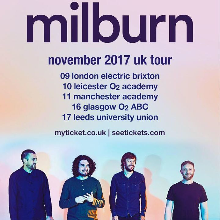 Milburn Tour Dates