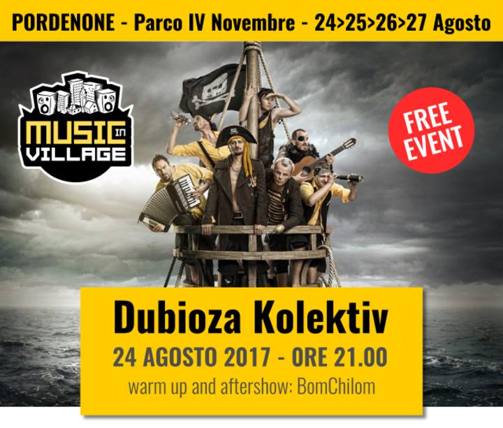 Dubioza kolektiv @ Music in Village - Pordenone, Italy