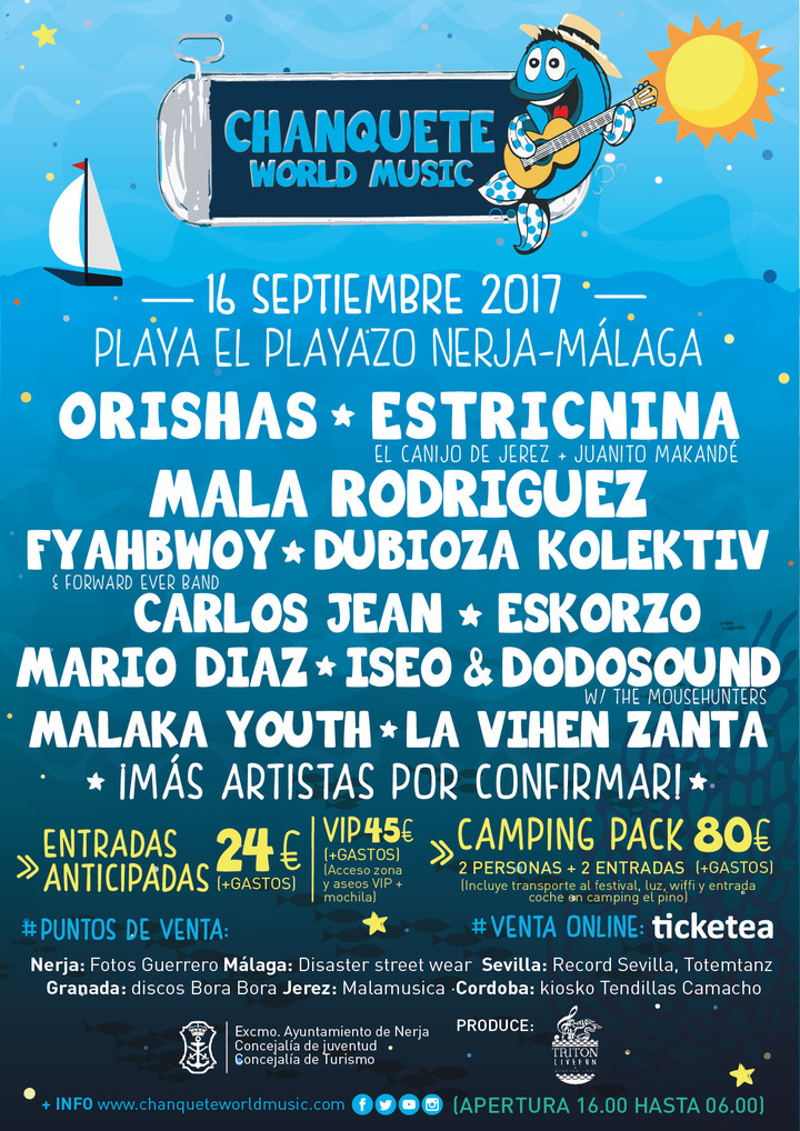 Dubioza kolektiv @ Chanquete World Music Festival - Nerja, Spain