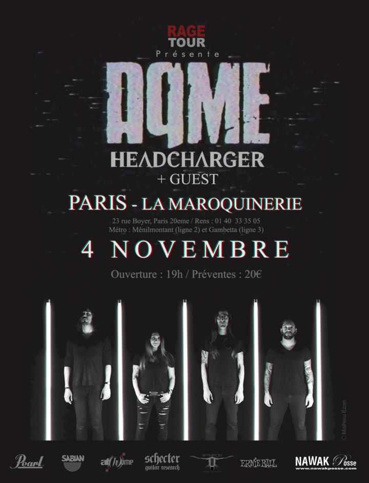AqME @ La Maroquinerie - Paris, France