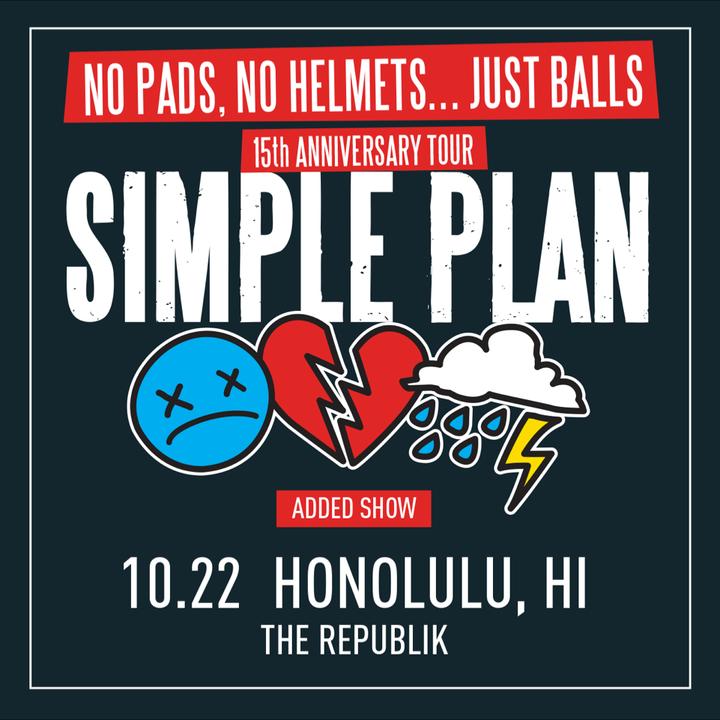 Simple Plan @ The Republik - Honolulu, HI
