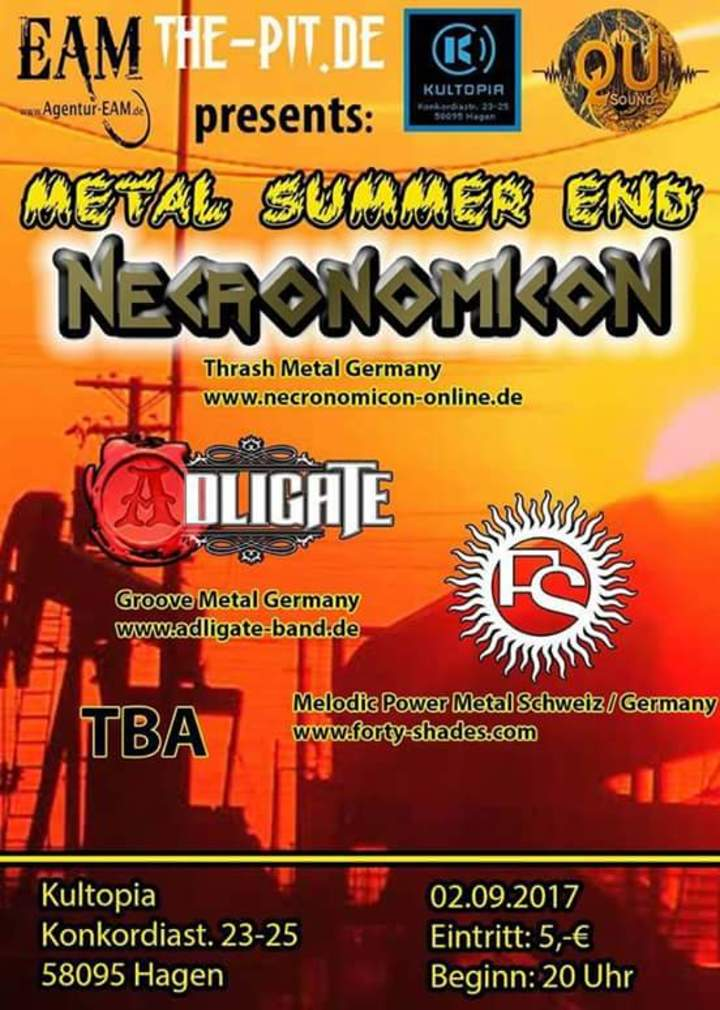 Forty Shades @ Metal Summer End Festival 2017 - Hagen, Germany