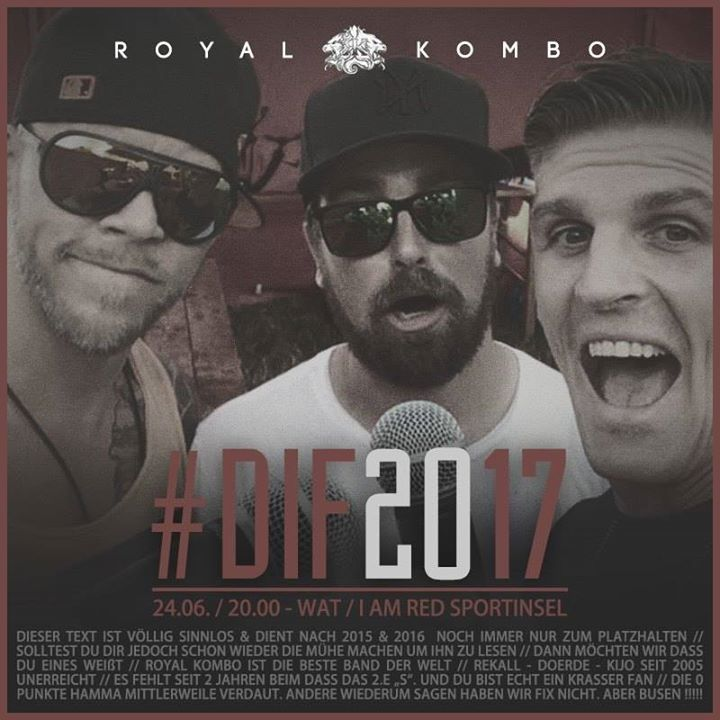 Royal Kombo Tour Dates