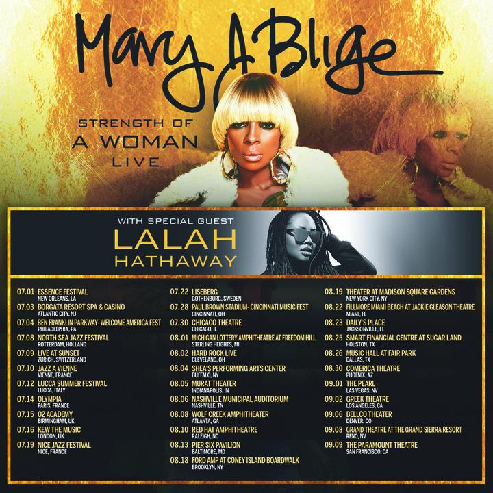 Mary J. Blige @ MGM National Harbor - Washington, DC