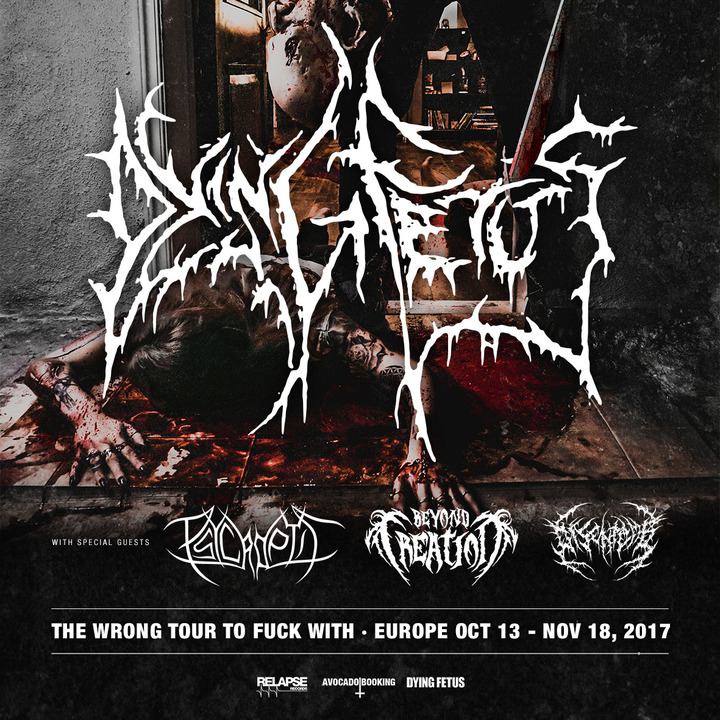 Dying Fetus @ The Dome - London, United Kingdom